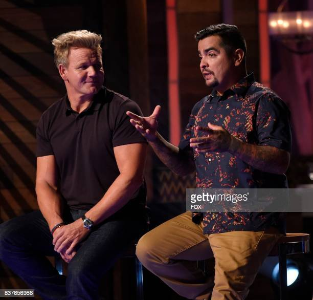 Judge / host Gordon Ramsay and judge Aaron Sanchez in the Season Eight premiere of MASTERCHEF airing Wednesday May 31 on FOX