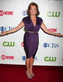 Judge Jeanine Pirro attends the CW/CBS/Showtime/CBS Television TCA party at Boulevard3 on July 18 2008 in Hollywood California