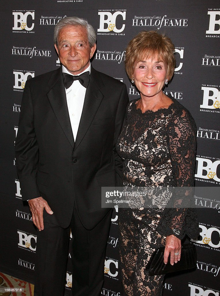 Judge Jerry Sheindlin and Judge Judith Sheindlin attend at 2012 Broadcasting & Cable Hall Of Fame Awards The Waldorf Astoria on December 17, 2012 in New York City.