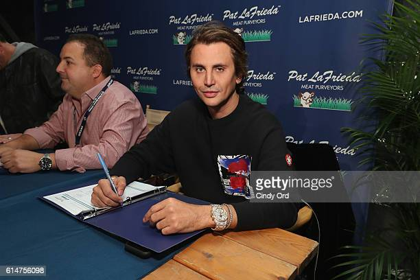 Judge Jonathan Cheban attends the Blue Moon Burger Bash presented by Pat LaFrieda Meats hosted by Rachael Ray at the Food Network Cooking Channel New...