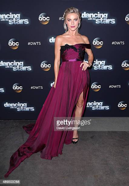 DWTS judge Julianne Hough attends 'Dancing with the Stars' Season 21 at CBS Television City on September 21 2015 in Los Angeles California