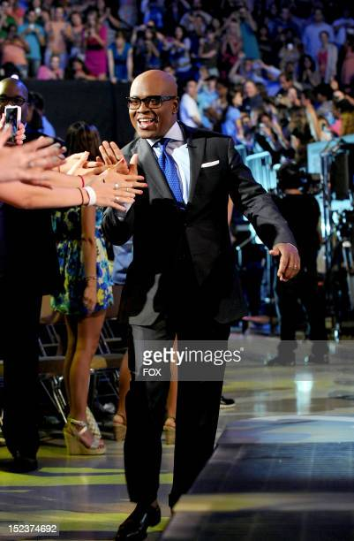 FACTOR Judge LA Reid at THE X FACTOR airing Wednesday Sep 19 2012 on FOX
