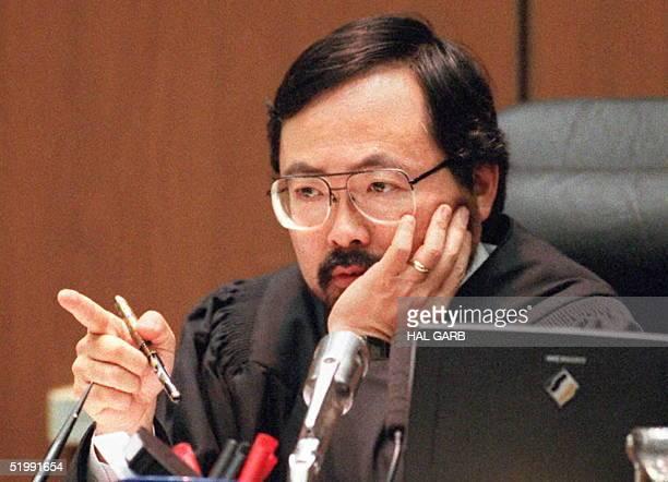 Oj Simpson Dna Evidence Lance Ito Stock ...