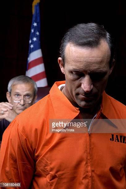 Judge Looking at Criminal