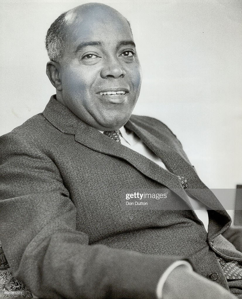 Judge Maurice Charles. First Negro appointed to Ontario court