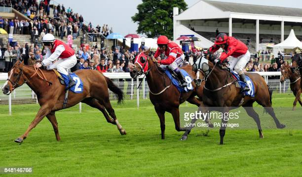 Judge n Jury ridden by Darren Egan wins the Coopers Marquees Stakes on Mid Summer Raceday during the June Meeting at York Racecourse York