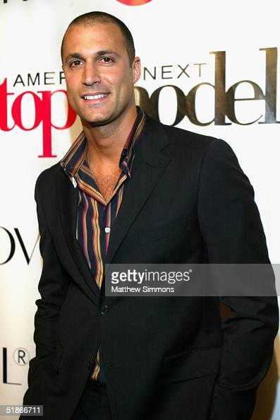 Judge Nigel Barker arrives at the Finale Party for UPN's 'America's Next Top Model' on December 15 2004 at The Ivar in Hollywood California