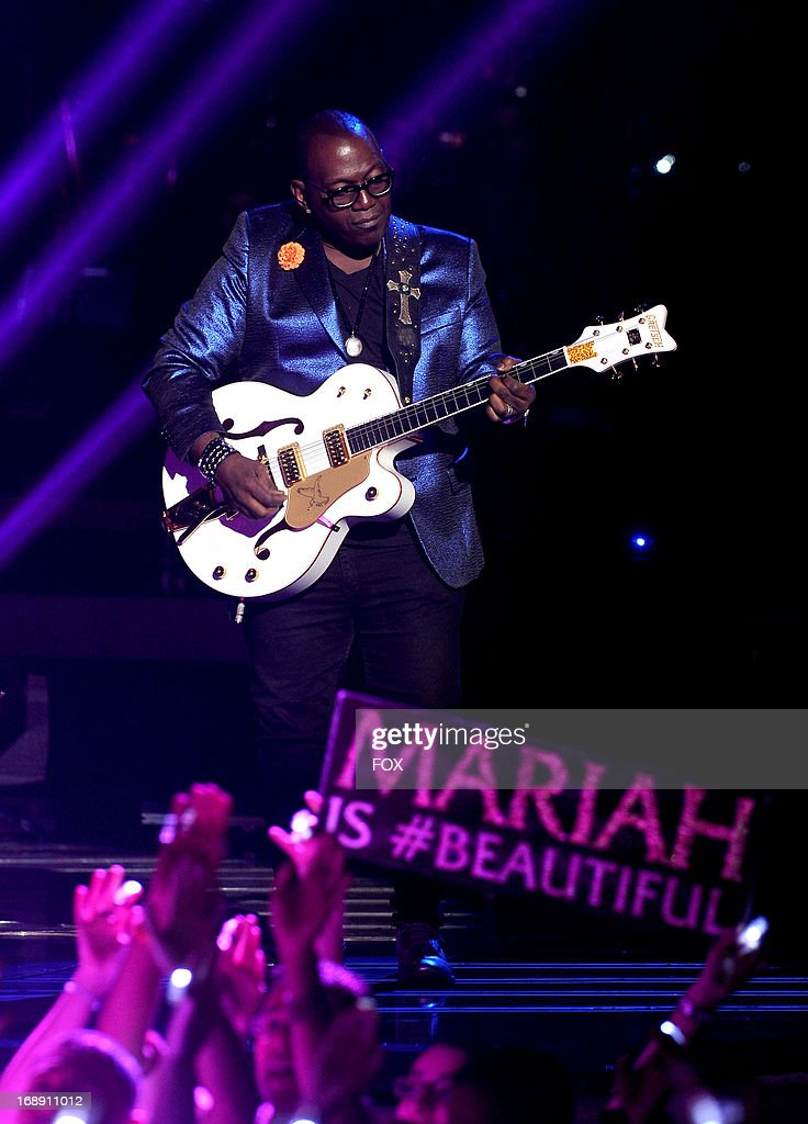 Judge Randy Jackson performs onstage at FOX's 'American Idol' Season 12 Live Finale Show at Nokia Theatre L.A. Live on May 16, 2013 in Los Angeles, California.