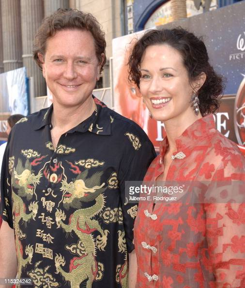 Judge Reinhold and Amy Miller...