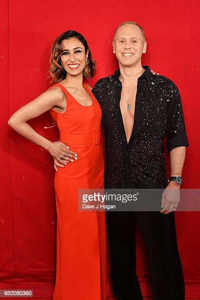 Judge Rinder and Anita Rani attend the photocall for the 'Strictly Come Dancing' live tour at the Barclaycard Arena on January 19 2017 in Birmingham...