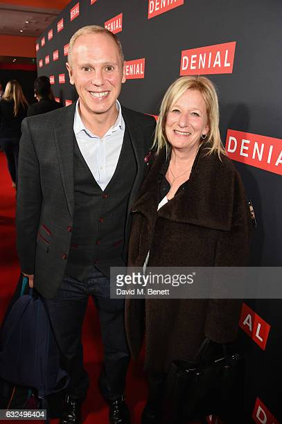 Judge Rinder and guest attend a gala screening of 'Denial' at The Ham Yard Hotel on January 23 2017 in London England