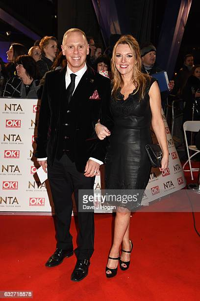 Judge Rinder and guest attend the National Television Awards at Cineworld 02 Arena on January 25 2017 in London England