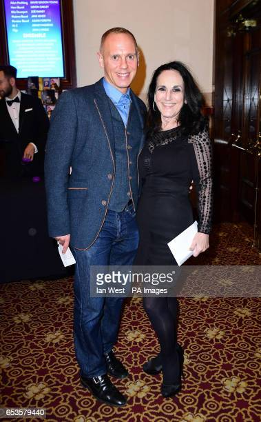 Judge Rinder and Leslie Joseph arriving for A Gala Performance of An American in Paris in aid of the Dancers' Career Development charity held at the...