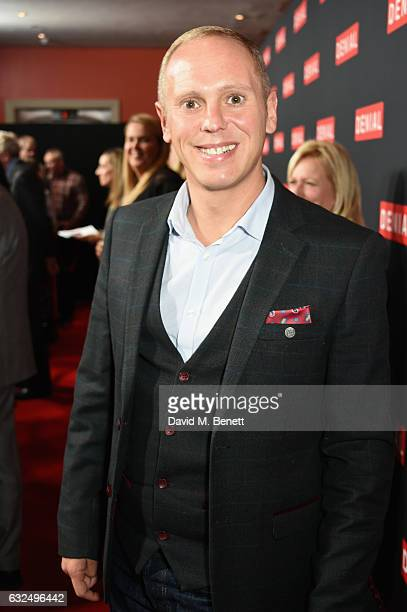 Judge Rinder attends a gala screening of 'Denial' at The Ham Yard Hotel on January 23 2017 in London England