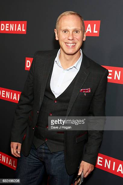 Judge Rinder attends the Gala screening of 'Denial' at Ham Yard Hotel on January 23 2017 in London England