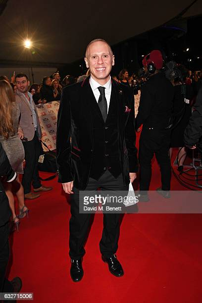 Judge Rinder attends the National Television Awards on January 25 2017 in London United Kingdom