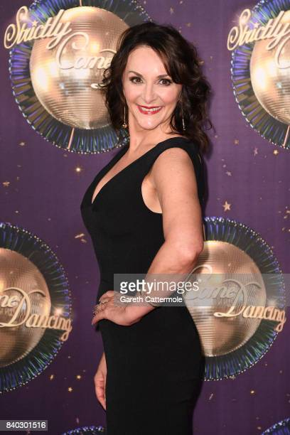 Judge Shirley Ballas attends the 'Strictly Come Dancing 2017' red carpet launch at The Piazza on August 28 2017 in London England