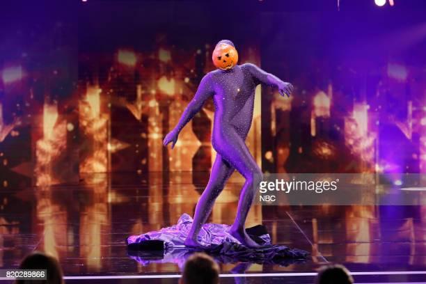 S GOT TALENT 'Judge's Cuts' Pictured Dancing Pumpkin Man