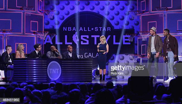 Judges designer John Elliott WNBA star Elena Delle Donne GQ editor Will Welch Inside the NBA analysts Kenny Smith and Charles Barkley Host Carrie...