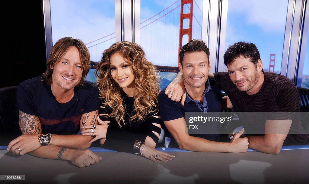 Judges Keith Urban Jennifer Lopez host Ryan Seacrest and judge Harry Connick Jr AMERICAN IDOL XIV returns with a special twonight threehour premiere...
