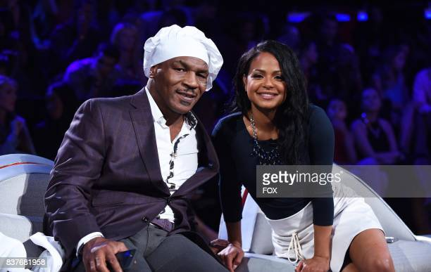 Judges Mike Tyson and Christina Milian in the allnew ShellShocked Scrambled episode of MASTERCHEF airing Wednesday June 28 on FOX