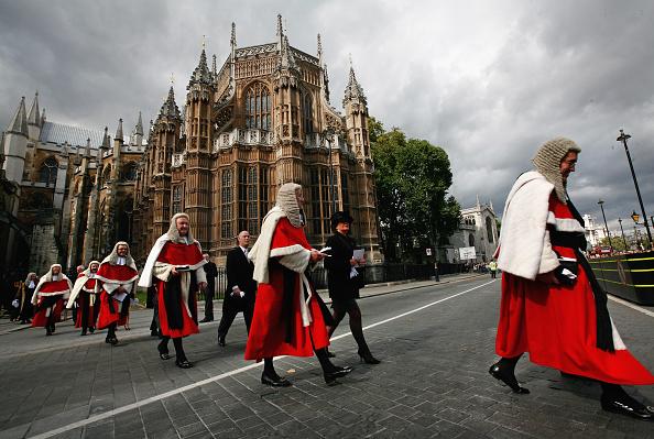 Westminster Abbey Host Their Annual Service For Judges : Fotografía de noticias