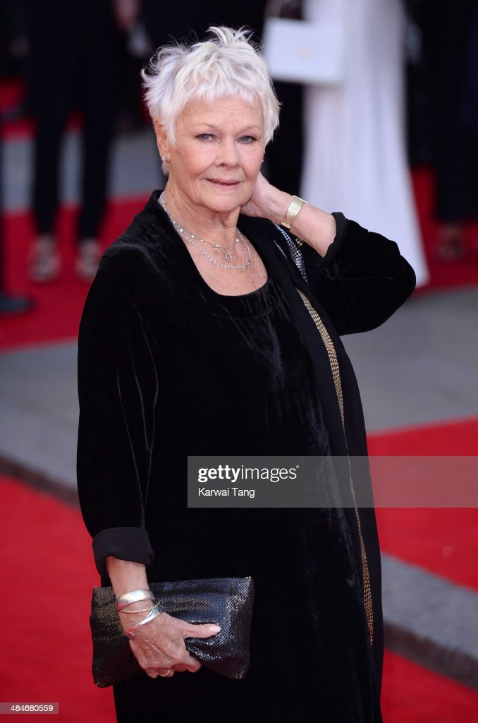 Judi Dench attends the Laurence Olivier Awards held at The Royal Opera House on April 13, 2014 in London, England.