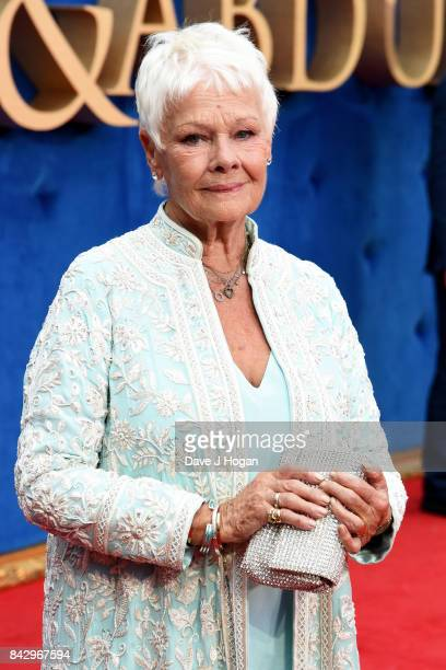 Judi Dench attends the 'Victoria Abdul' UK premiere at Odeon Leicester Square on September 5 2017 in London England