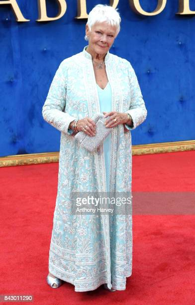 Judi Dench attends the 'Victoria Abdul' UK premiere held at Odeon Leicester Square on September 5 2017 in London England