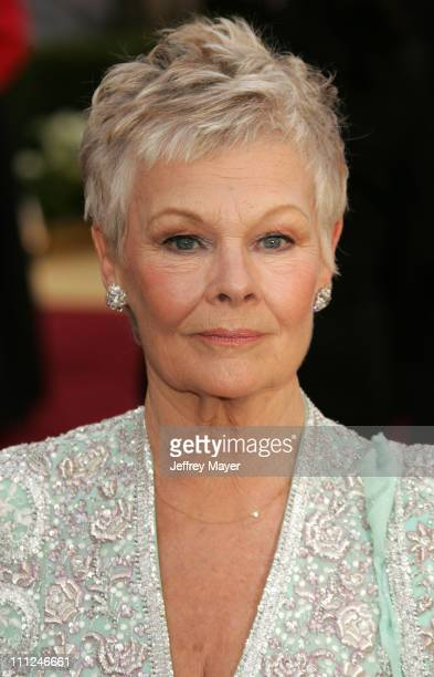 Judi Dench nominee Best Actress in a Leading Role for 'Mrs Henderson Presents'