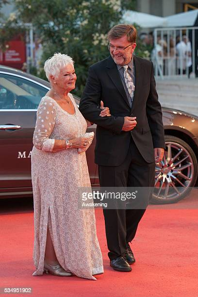 Judi Dench on the red carpet for 'Philomena' during the 70th Venice International Film Festival