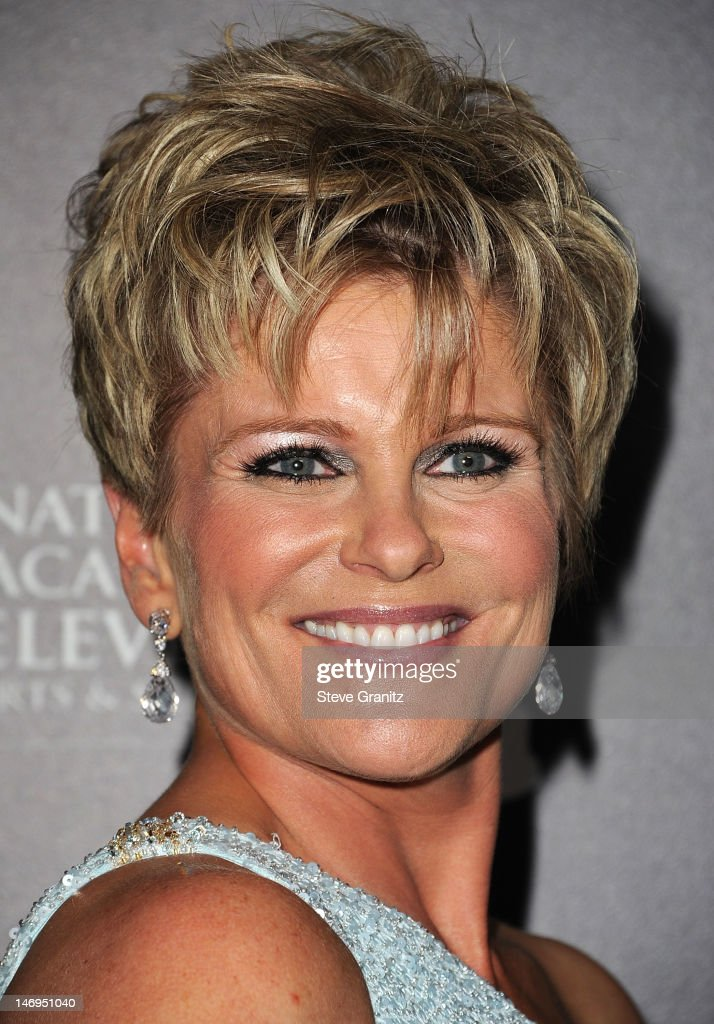 Judi Evans attends 39th Annual Daytime Emmy Awards at The Beverly Hilton Hotel on June 23, 2012 in Beverly Hills, California.
