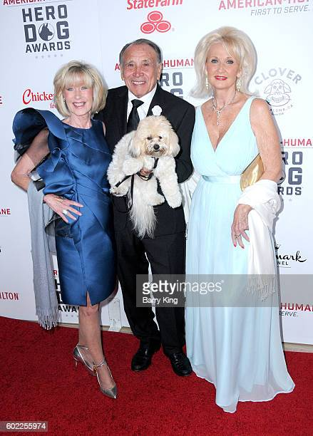 Judi Richards and Ray Richards and guest attend the 6th Annual Hero Dog Awards 2016 at The Beverly Hilton Hotel on September 10 2016 in Beverly Hills...