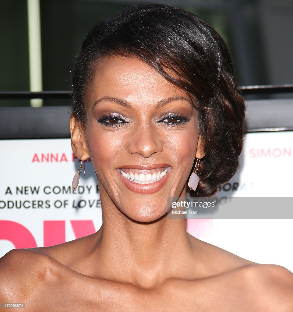 Judi Shekoni arrives at a Los Angeles special screening of 'I Give It A Year' held at ArcLight Hollywood on August 1, 2013 in Hollywood, California.