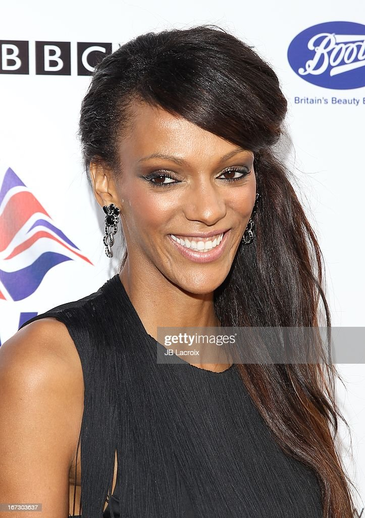 Judi Shekoni attends the 7th Annual BritWeek Festival 'A Salute To Old Hollywood' launch party held at The British Residence on April 23, 2013 in Los Angeles, California.