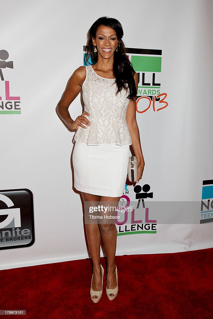 Judi Shekoni attends the 'No Bull Teen Video Awards' at the Westin LAX Hotel on August 10, 2013 in Los Angeles, California.