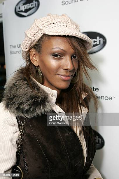Judi Shekoni during 2006 Park City The Loft featuring TMobile Klipsch and Hudson Day 4 at 427 Main Street in Park City Utah United States