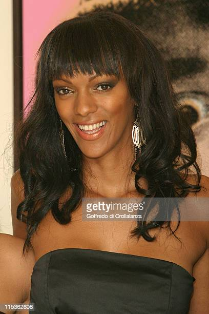 Judi Shekoni during 'Private Moments' photocall at Apart Gallery in London Great Britain