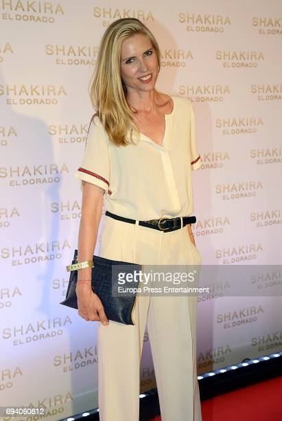 Judit Masco attends the photocall for the new Shakira album 'El Dorado' at the Convent of Angels on June 8 2017 in Barcelona Spain