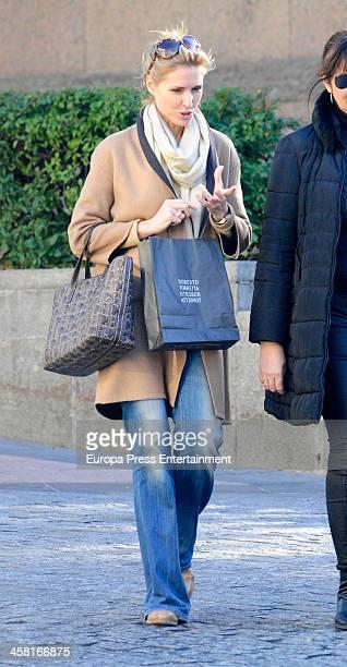 Judit Masco is seen on December 02 2013 in Madrid Spain