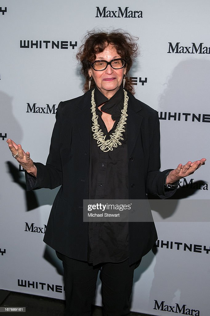 Judith Bernstein attends the 2013 Whitney Art Party at Skylight at Moynihan Station on May 1, 2013 in New York City.
