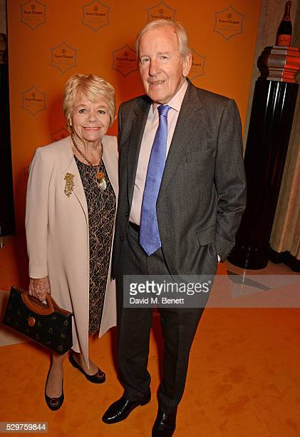 Judith Chalmers and Neil Durden Smith attend the Veuve Clicquot Business Woman Award at The Ballroom of Claridge's on May 9 2016 in London Englan