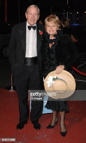 Judith Chalmers arrives with her husband for the 'Great Big Bid Charity Auction' part of the annual Children In Need fundraising activities from BBC...