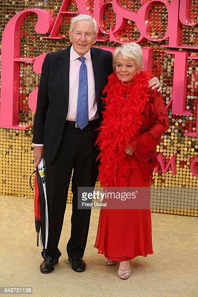 Judith Chalmers attends the World Premiere of 'Absolutely Fabulous' at Odeon Leicester Square on June 29 2016 in London England