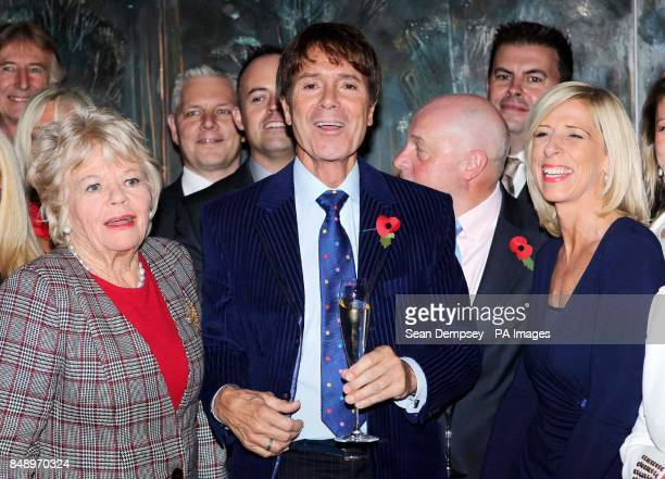 Judith Chalmers Sir Cliff Richard and guests attend The Lady Taverners' tribute lunch for Sir Cliff Richard at the Dorchester hotel in London