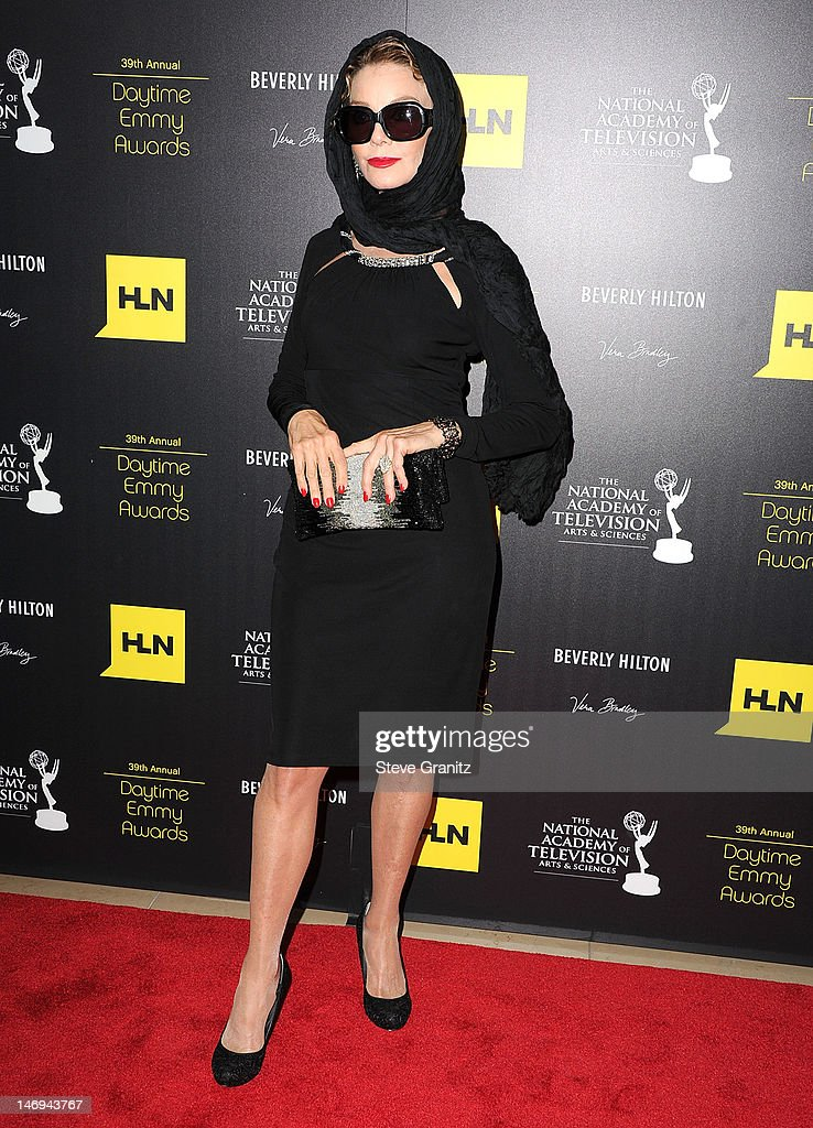 <a gi-track='captionPersonalityLinkClicked' href=/galleries/search?phrase=Judith+Chapman&family=editorial&specificpeople=665937 ng-click='$event.stopPropagation()'>Judith Chapman</a> attends 39th Annual Daytime Emmy Awards at The Beverly Hilton Hotel on June 23, 2012 in Beverly Hills, California.