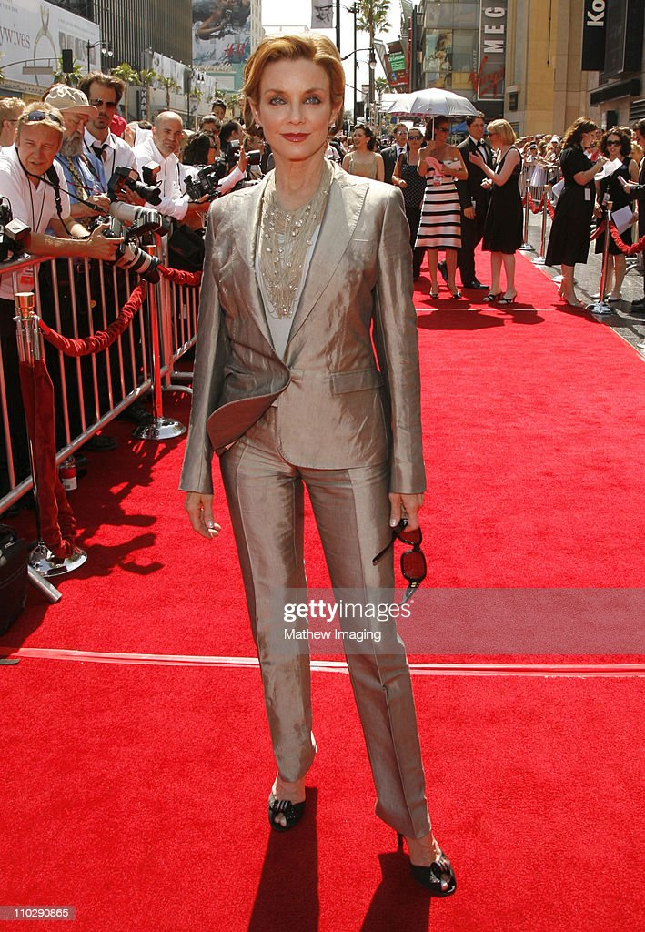 Judith Chapman during 34th Annual Daytime Emmy Awards Red Carpet at Kodak Theatre in Hollywood California United States