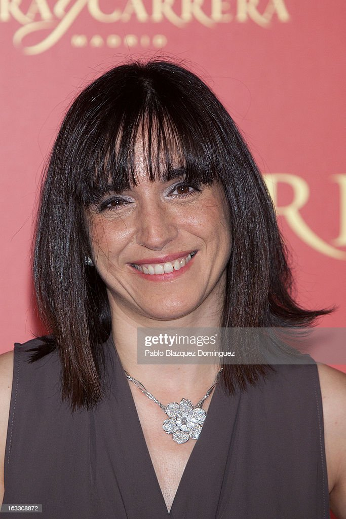 Judith Colell attends 'Maja de los Goya Awards 2012' at Fernan Nunez Palace on March 7, 2013 in Madrid, Spain.
