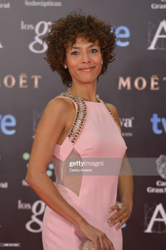 Judith Diakhate attends Goya Cinema Awards 2014 at Centro de Congresos Principe Felipe on February 9, 2014 in Madrid, Spain.