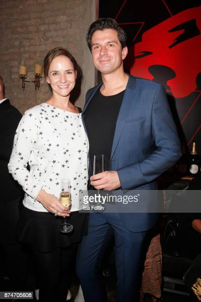 Judith Dommermuth and Jonas Grashey attend the New Faces Award Style 2017 at The Grand on November 15 2017 in Berlin Germany